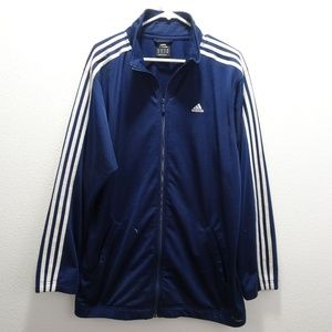 Men's Vintage Adidas 2005 Warm up Jacket 3 Stripe